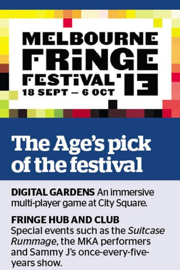 <i>The Age</i>'s pick of the Melbourne Fringe Festival.