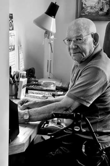 Tales to tell … former lobsterman Jim Henry.