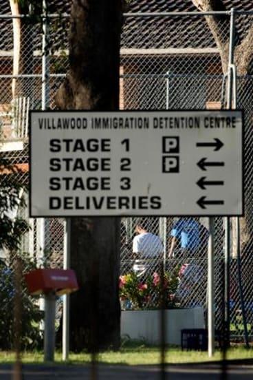 Sydney's Villawood Immigration Detention Centre.