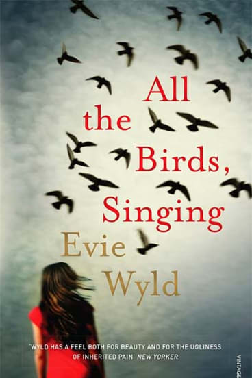 """""""All the birds singing"""" by Evie Wyld."""