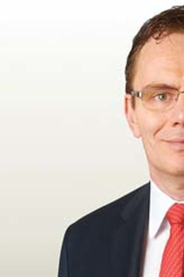 New man at the top ... Andrew Mackenzie will take over as BHP chief executive.