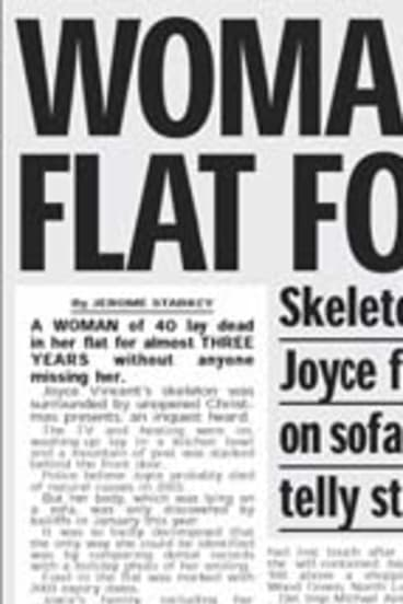 A report on Joyce Vincent's discovery.