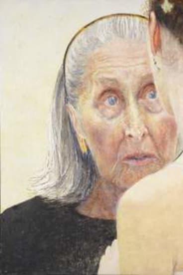 Intensity: <em>Jenny Sages' Irina Baronova (handing on the baton)</em>, a portrait of the elderly ballerina.
