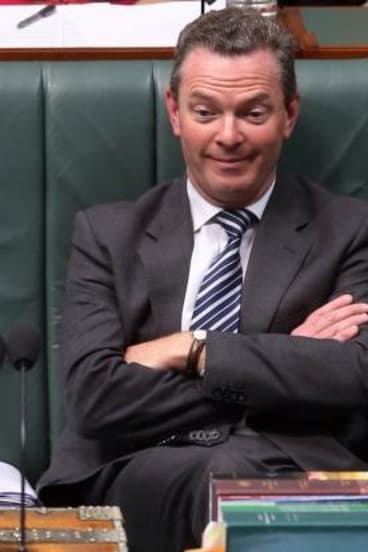 Christopher Pyne told <i>Q&A</i>: 'I'm not going to get into an argument with the audience.'