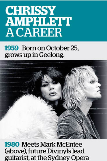 The career of Chrissy Amphlett.