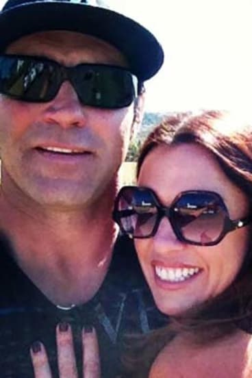 """Without the surgery, I will die."": Nicole Perko with husband Eddie."