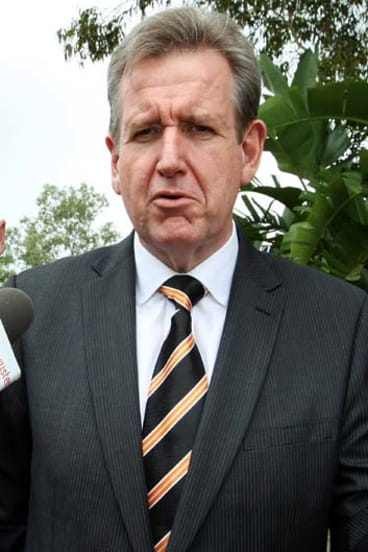 Premier Barry O'Farrell said he expected a 20 per cent reduction in the number of senior and middle managers within three years.