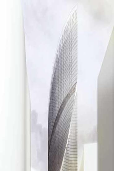 Metier3's curvaceous design for Southbank.
