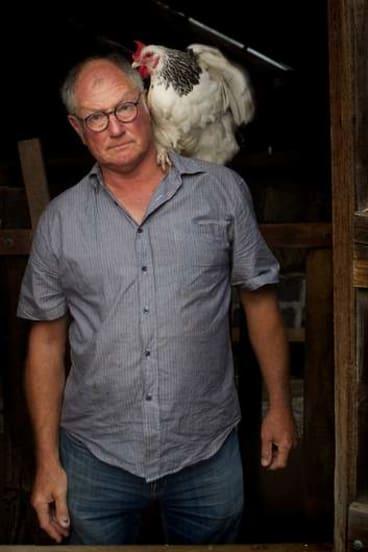 Roland Harvey at the Collingwood Children's Farm.