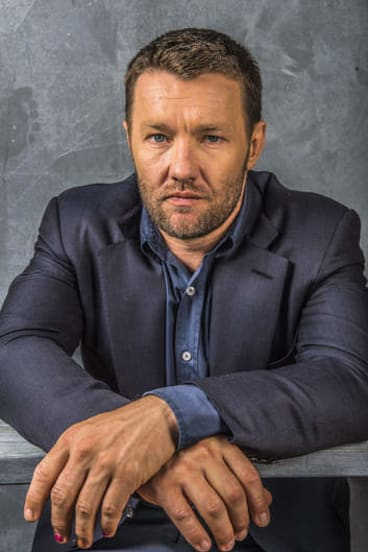 """""""My old man never handed my brother and me anything ..."""": actor Joel Edgerton."""