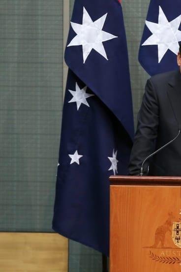 Chinese President Xi Jinping address the Australian Parliament on Monday.