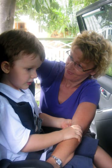 The new laws are long overdue, according to Wynnum mother Sarah Stokes.