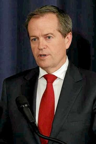 Opposition Leader Bill Shorten