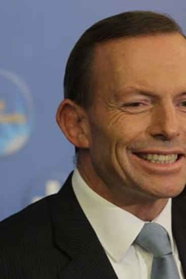 "Money ""safe with us"": Tony Abbott."