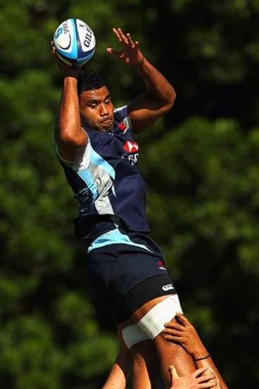 """""""I'll just be happy to play one game, after the last couple of years"""" ... Wycliff Palu."""
