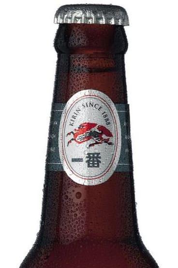 Kirin beer.