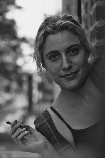 The carelessly unkempt Greta Gerwig, 'mumblecore's dowager queen', in <i>Frances Ha</i>.