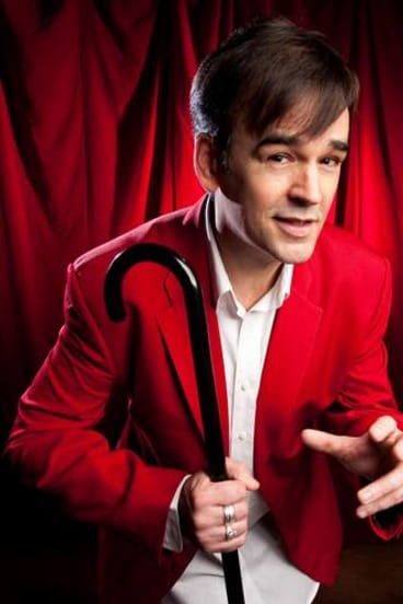 Tim Ferguson makes the best of a bad situation.