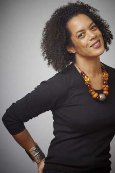 Author Aminatta Forna.