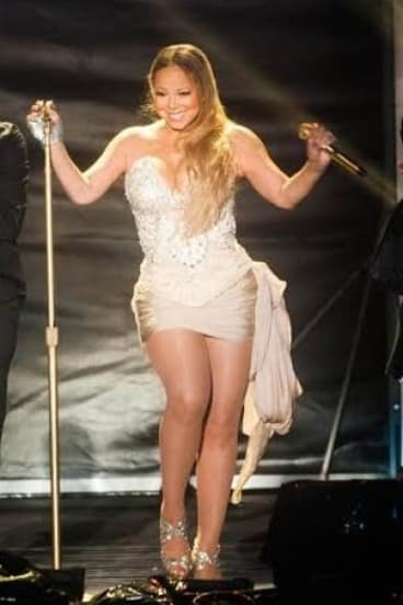 The real deal: Mariah Carey.