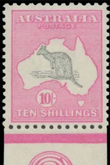 A catalogue for the stamps due to be sold described Sir Ron as 'a collector of rare distinction'.