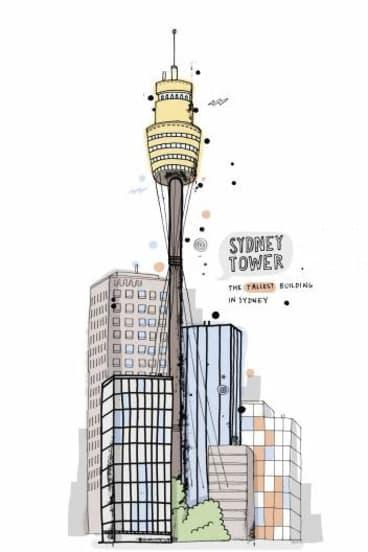 Sydney Tower by James Gulliver Hancock.