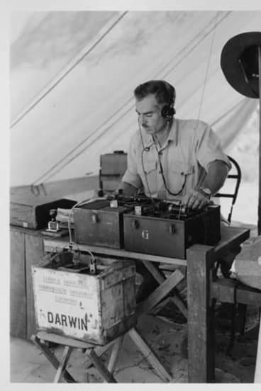 Radio Arnhem ... Bassett-Smith in 1948.