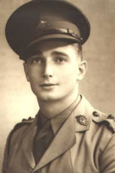 Young gun...Bob Ellice-Flint in 1941.