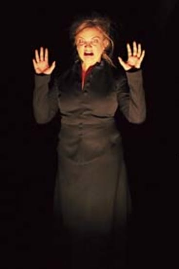 Anne-Louise Rentell ...  performing in The Governess in Lessons Learnt.