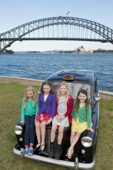 Georgia Taplin, Bella Thomas, Sasha Rose and Molly Barwick are the stars of <i>Matilda the Musical</i>.
