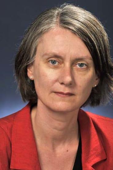 Then Australian ambassador to Israel, Andrea Faulkner.