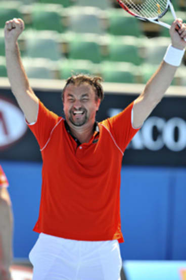"""""""Unbelievable""""...Henri Leconte is bringing his own style to tennis commentary."""