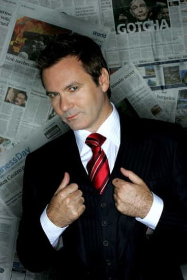 Former Canberra boy Paul McDermott is hosting the events from the Regatta Stage at Canberra's big birthday bash on Monday, March 11.