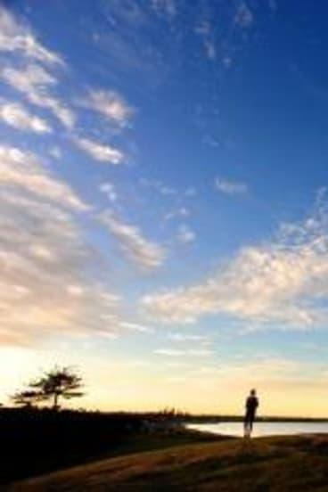 Sunrise at Ormond Point, Elwood.