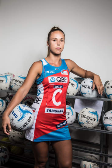 Back in the squad: Paige Hadley.