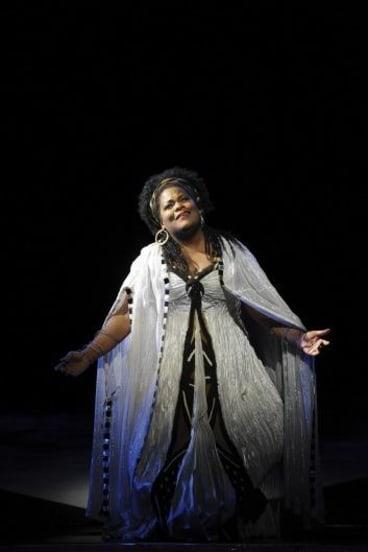 Verdi veteran: Latonia Moore in Opera Australia's 2012 production of Aida.
