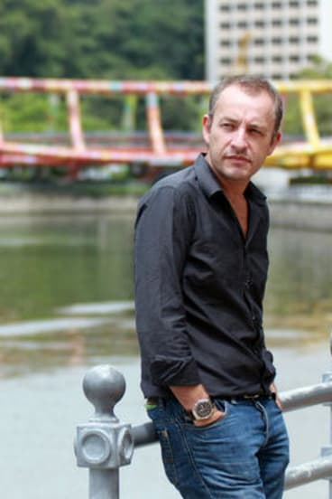 Journalist Peter Lloyd, arrested in Singapore in 2008 for possession of a small quantity of ice.