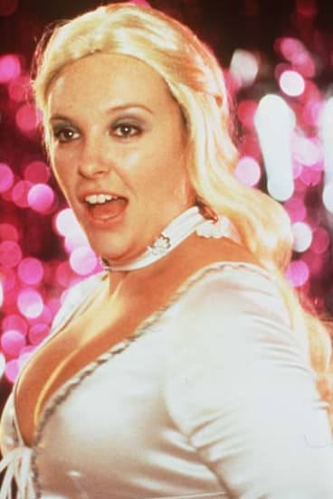 National icon ... Toni Collette in <i>Muriel's Wedding</i>.