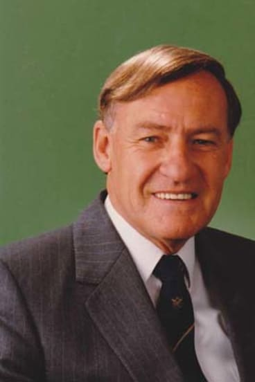 Believer in microfinance … Harry Edwards was one of the Liberal Party's foremost economic thinkers.