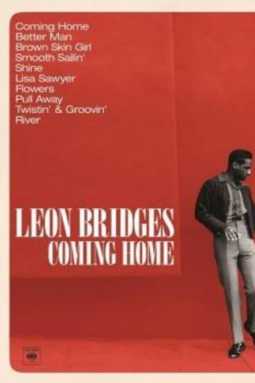 The cover of Leon Bridges' <i>Coming Home</i> album.