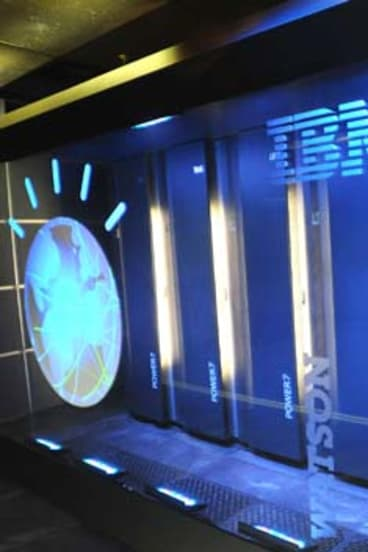 The IBM computer system known as Watson.