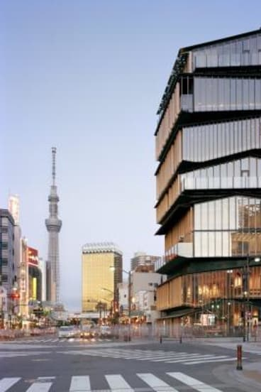 Asakusa Tourist Information Centre in Tokyo, designed by Kengo Kuma and Associates.