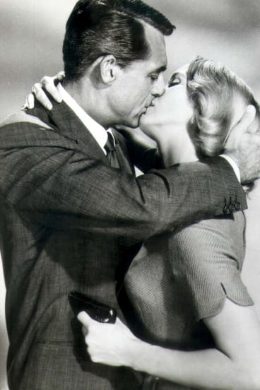 Cary Grant and Eva Marie Saint in North By Northwest.