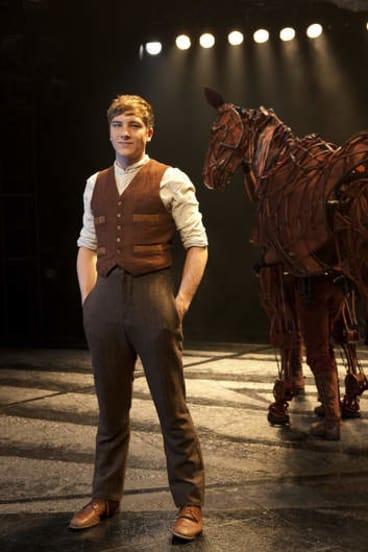 Cody Fern, the 24-year-old star of War Horse.