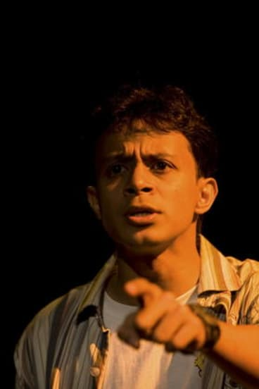 Sanket Mhatre in <i>A Personal War - Stories of the Mumbai Terror Attacks</i>.