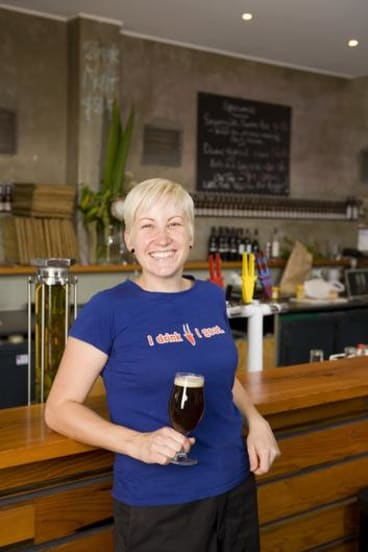 Two Birds Brewing's Jayne Lewis.