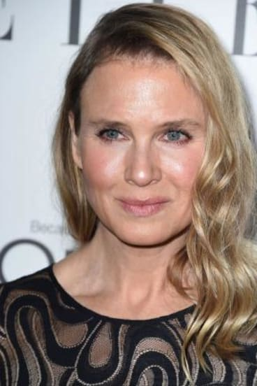 A whole new you: Renee Zellweger at the Elle Women in Hollywood Awards.