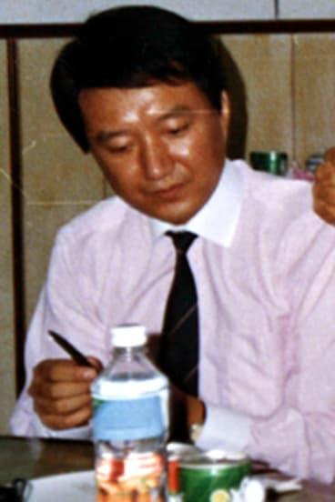 The jailed Australian businessman Sterh Hu in 1991.
