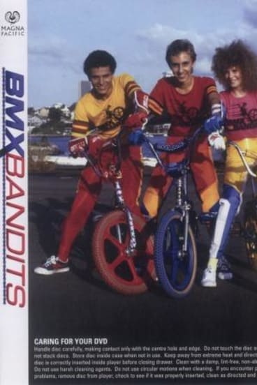 BMX Bandits which starred Nicole Kidman (right).