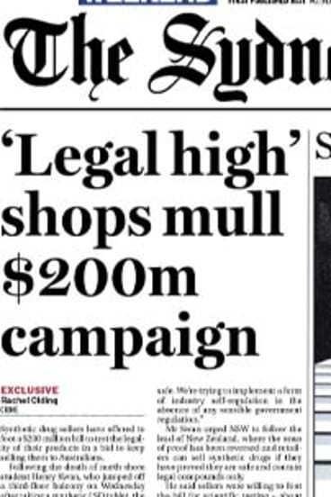 The <em>Herald</em> front page on Saturday.